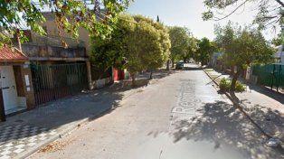 El lugar donde se registró el ataque. (Foto: captura de Street View).