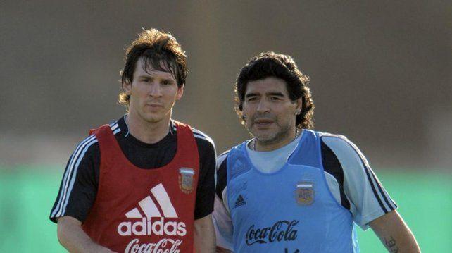El recuerdo de cuando Maradona le enseñó a patear tiros libres a Lionel Messi