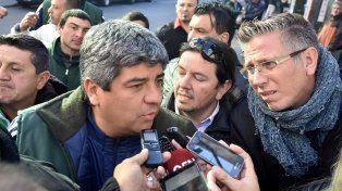 conflicto. Pablo Moyano anunció que arrancarán paros por rama.