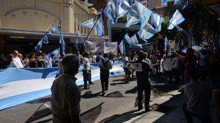 Los empleados de comercio realizaron numerosas marchas en reclamo por el descanso dominical.
