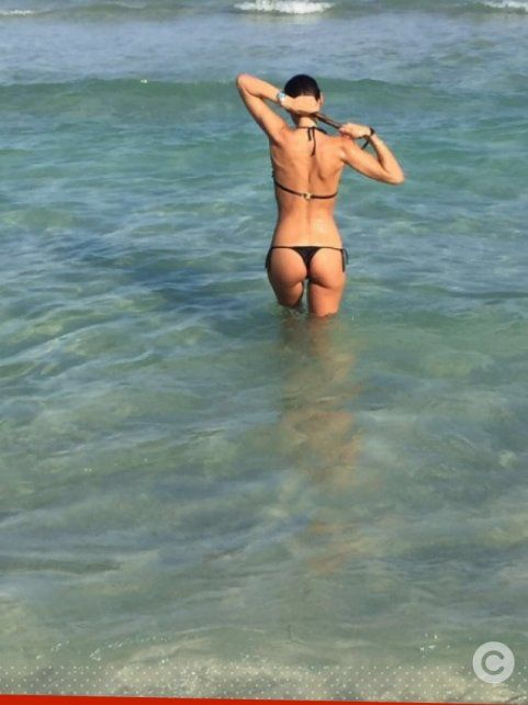 Pampita se fue a Miami