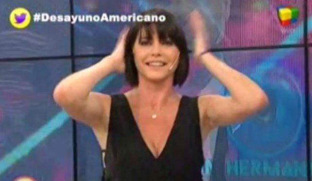 El nuevo corte de pelo de Pamela David.