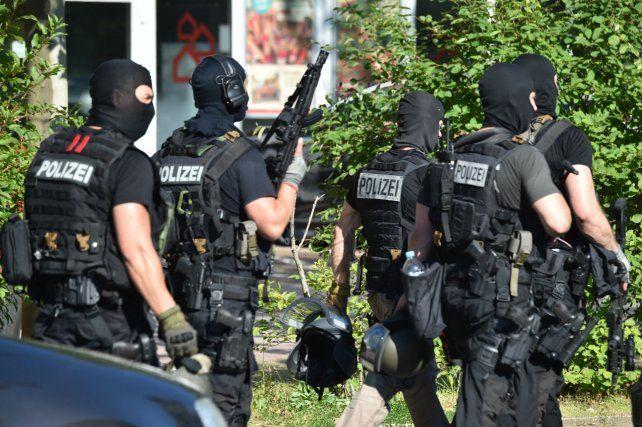 Policías alemanes abatieron al tirador.