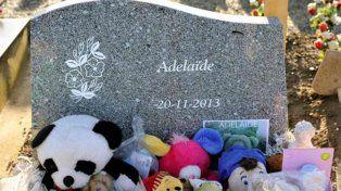 La tumba de la pequeña Adelaida