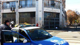 La sede local de la cartera laboral, en San Lorenzo y Ovidio Lagos.