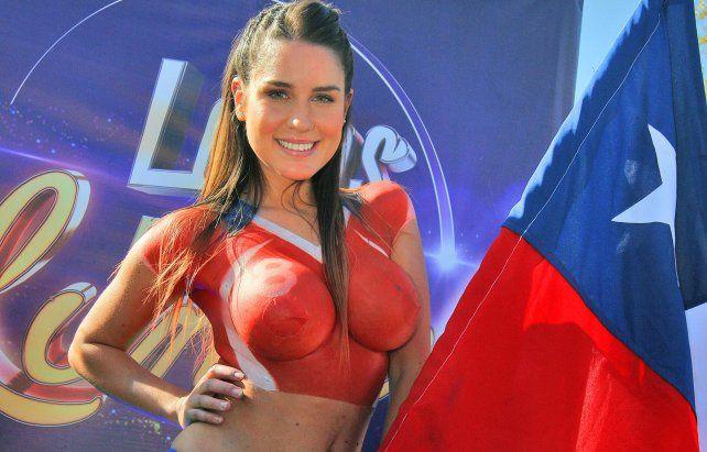 Una voluptuosa modelo chilena chicaneó a Messi en las redes sociales