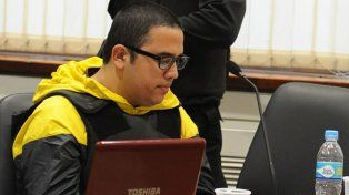 Ariel Guille Cantero aparece en las escuchas que se reprodujeron hoy durante el juicio por el crimen de Sergio Pared. (foto archivo)