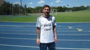 Lionel Messi cumple 29 años pero sólo piensa en festejar cuando levante la Copa
