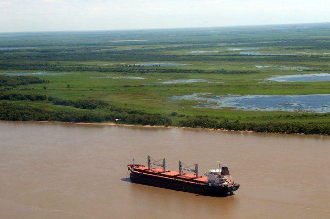 humedal. Las tierras que el filántropo Carlos Deliot donó a la Municipalidad de Rosario abarcan 1.700 hectáreas en el humedal del alto delta del Paraná.