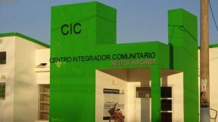el cic. El centro funciona en un populoso barrio de Venado Tuerto.
