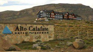 El hotel Alto Calafate