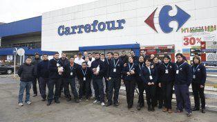 Carrefourdejará sin efecto los telegramas que envió a 55 trabajadores.