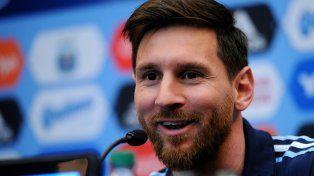 Messi no quiso entrar en polémicas, pero volvió a hablar de la AFA y dejó conceptos picantes