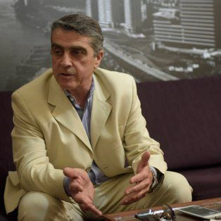 Armando Traferri, senador del PJ.