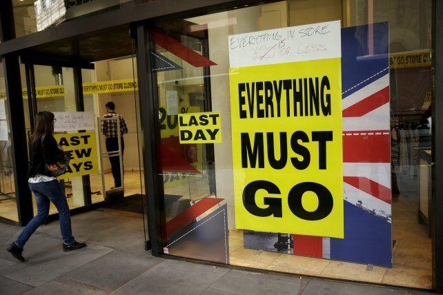Todo debe seguir. La decisión británica causó un sismo en los mercados.