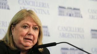 Susana Malcorra habló ayer a la tarde en Buenos Aires luego de que el gobierno probritánico de las islas manifiestara preocupación por el Brexit.