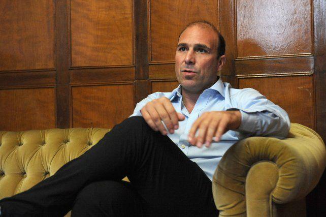 Elogio. El director de Desarrollo de la Conmebol destacó el prestigio del fútbol rosarino