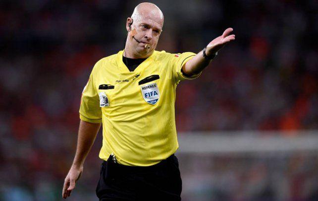 El arbitro que dirigira la final