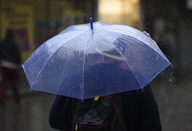 El Servicio Meteorológico y las lluvias en la ciudad.