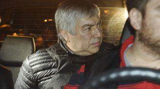 Lázaro Baez, detenido por presunto lavado de dinero.