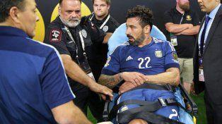 Lavezzi se perderá la final por la lesión sufrida contra Estados Unidos.
