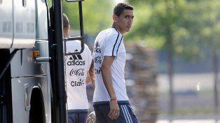 Di María podría estar en la final de la Copa América Centenario ante Chile.
