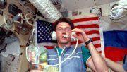 Sobreviviente. Foale a bordo de la estación orbital rusa en 1997.