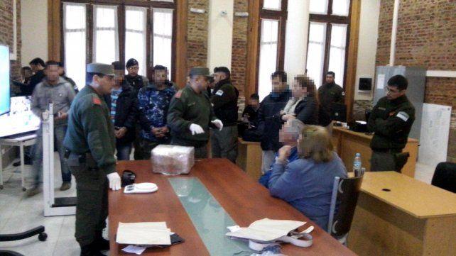 operativo. La marihuana venía de Chaco bajo seguimiento de gendarmes.
