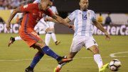 Argentina y Chile no se sacaron diferencias en los 90 minutos y van a tiempo suplementario