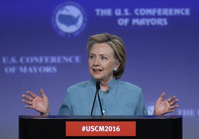 en crecimiento. Hillary Clinton sube en todos los sondeos.
