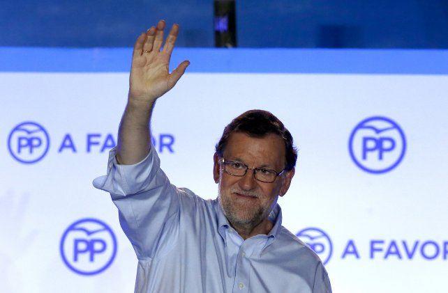 victoria. Rajoy reclamó el derecho a gobernar