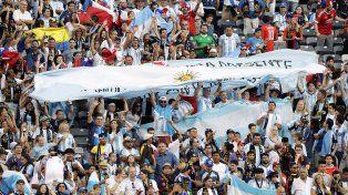 La pasión de los hinchas argentinos hizo que Nueva York no durmiera
