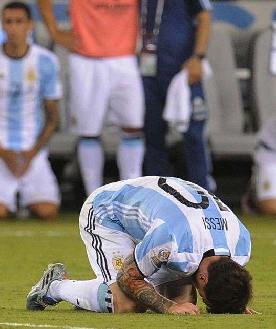 Se terminó la selección para mí, la bomba de Messi tras la derrota en la final ante Chile