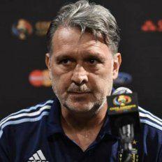 El director técnico de la selección nacional, Gerardo Martino, intentó explicar lo inexplicable.