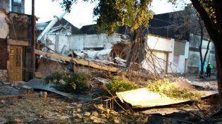 Los daños tras la explosión de Alem al 2900.