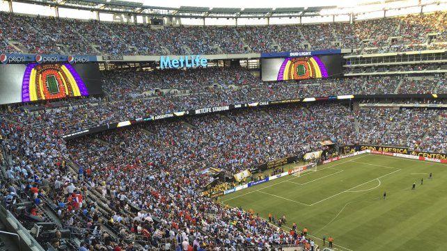 Postales de la derrota argentina en la Copa América Centenario
