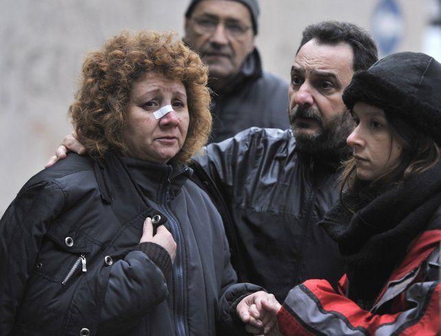 La vecina contó lo que vivió en su casa afectada por la explosión.