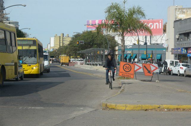 El presidente Macri volvería a Rosario para inaugurar las obras del Movibus. (Foto: Silvina Salinas)