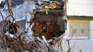 El dramático relato de la vecina del laboratorio que encontró a su hijo entre los escombros