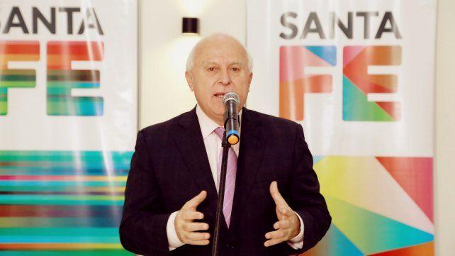 El gobernador Miguel Lifschitz encabezó un acto en Santo Tomé.