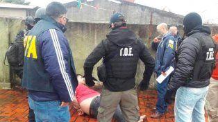 El Gordo Salomón fue detenido hoy en La Matanza por efectivos de la TOE y la Federal.