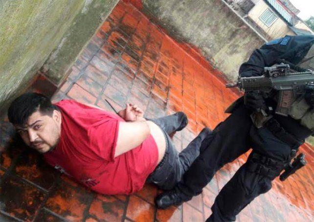 La TOE y la Policía Federal lograron apresar hoy al último prófugo de la banda Los Monos