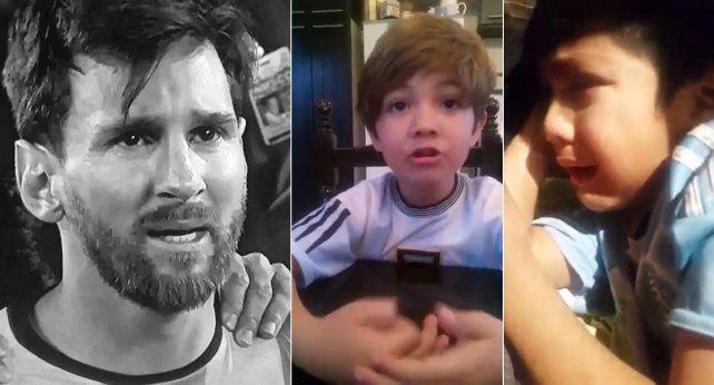 Los conmovedores videos fueron subidos por los padres de los chicos.