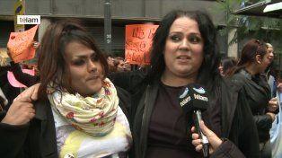 Invitación. Florencia Guimaraes, presidenta de Alitt, convoca a la marcha que saldrá esta tarde de Plaza de Mayo.