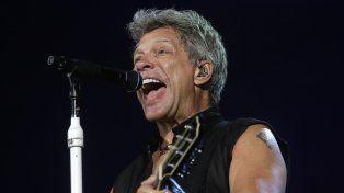 Jon Bon Jovi. El rockero recibió en JBJ Soul Kitchen a su admiradora.