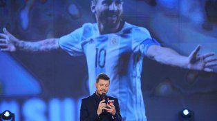 Tinelli le dedicó varios minutos a la situación del seleccionado argentino.