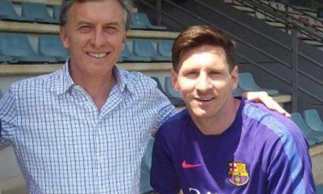 Macri expresó su apoyo a Messi y a todo el equipo de Martino.