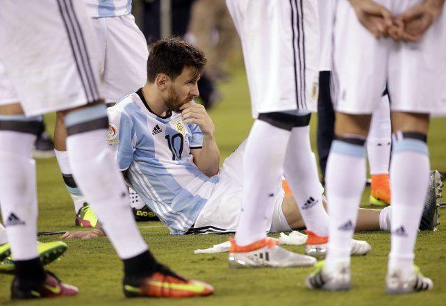 Por favor, no te rindas, la emotiva carta de una docente entrerriana para Messi
