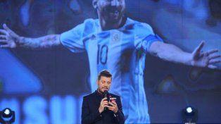 El mensaje de Tinelli para Messi: No te bajes porque es lo peor que le puede pasar al fútbol argentino