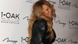 Mariah Carey conmocionó a los asistentes a la fiesta en Las Vegas.